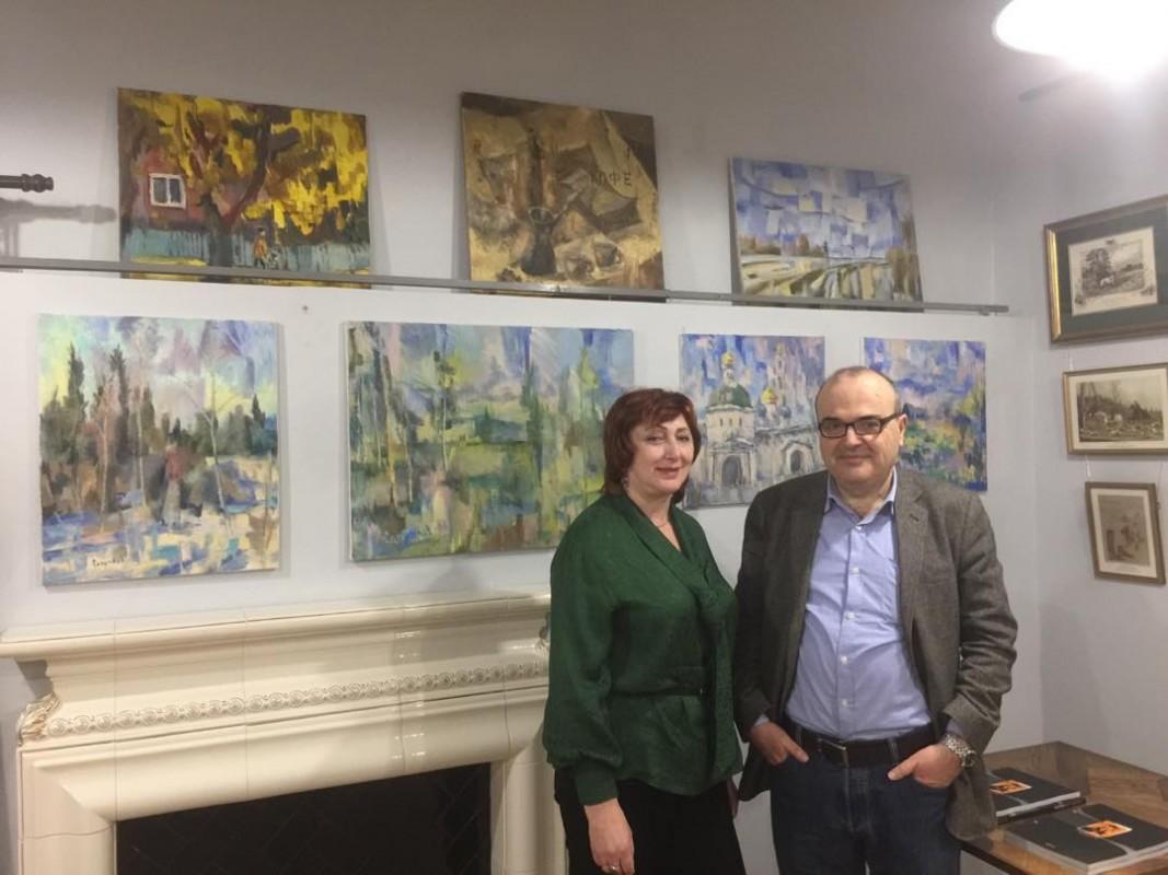 Персональная выставка И. А. Сапункова